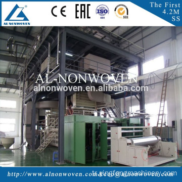 2017 Top Selling PP Spunbond Nonwoven Fabric Making Machine with High Quality and Reasonable Price